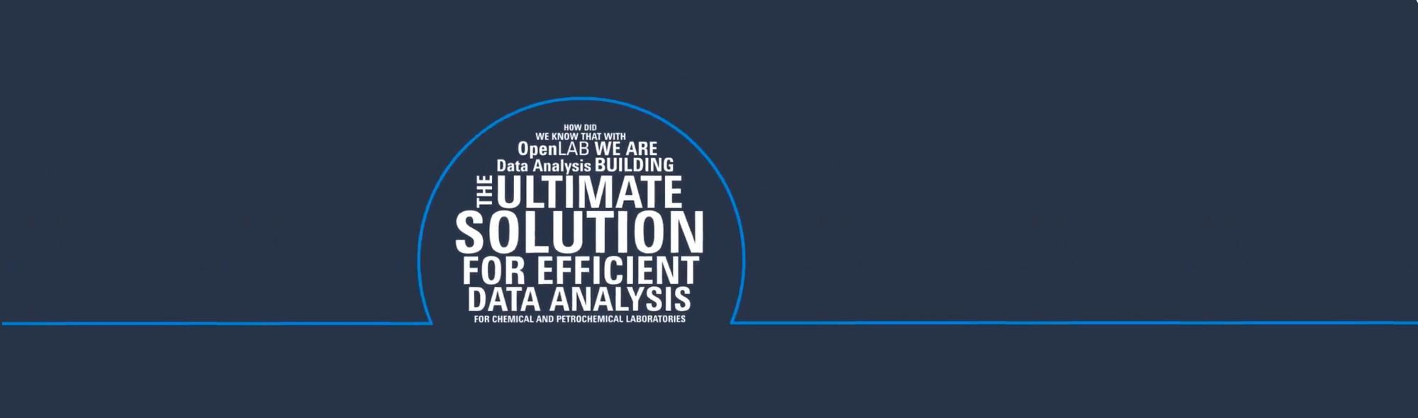 Agilent Infomercial OpenLAB Data Analysis