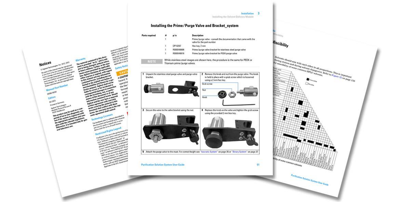 Agilent Migration und Rebranding Produktdokumentation