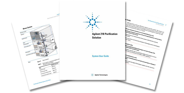 Agilent Migration und Rebranding Produktdokumentation chemische Analytik