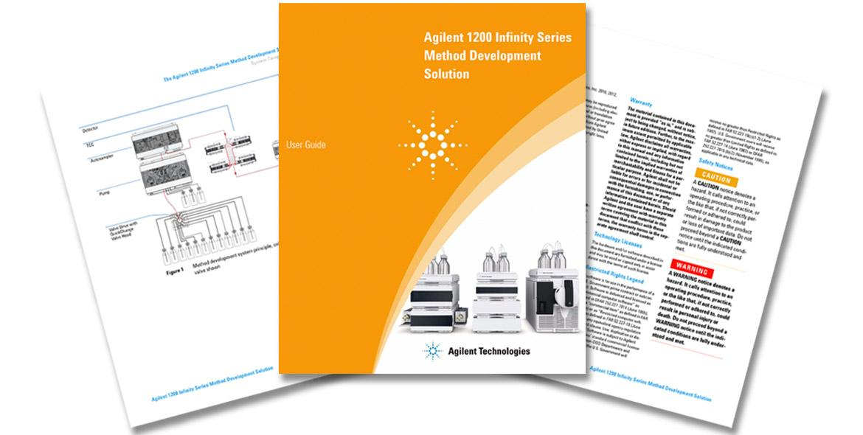 Agilent Referenzhandbuch Methodenentwicklung