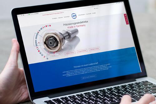 Website <br /><span class='kunde'> Karl Hipp GmbH