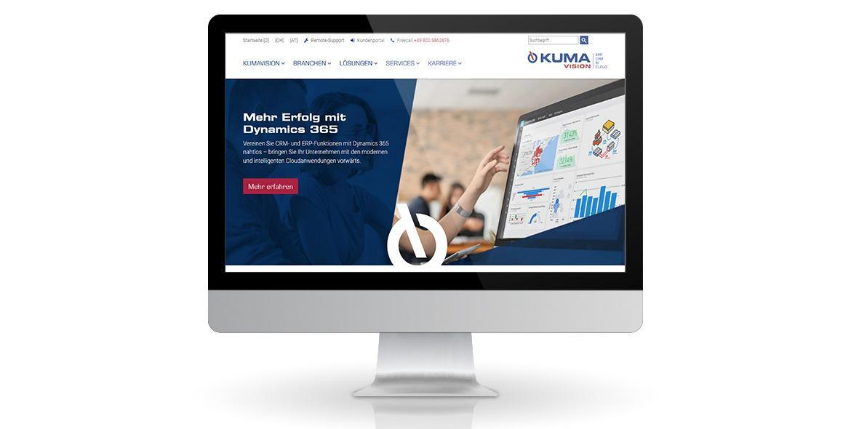 Kumavision Webseite von KE-Communication