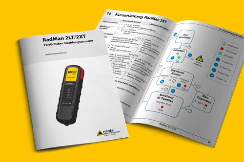 Bedienungsanleitung <br /><span class='kunde'> Narda Safety Test Solutions