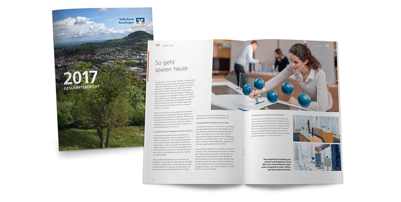 Geschäftsbericht Volksbank von KE-Communication